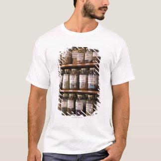 Shelves of herb jars T-Shirt