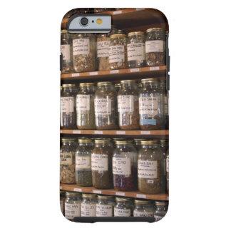 Shelves of herb jars tough iPhone 6 case