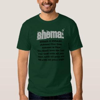 ¡SHEMA! Oiga la camiseta de O Israel Playera
