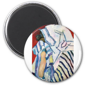 Shema YIsrael 2 Inch Round Magnet