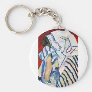 Shema YIsrael Basic Round Button Keychain