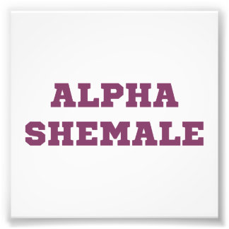 Shemale alfa fotografías