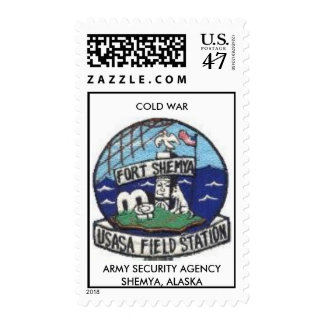 shemya, COLD WAR, ARMY SECURITY AGENCYSHEMYA, A... Postage Stamp