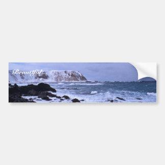 Shemya island Cable Bowl N shore Car Bumper Sticker