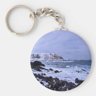 Shemya island Cable Bowl N shore Key Chain