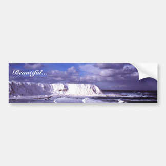 Shemya Island Cable Bowl View west Car Bumper Sticker