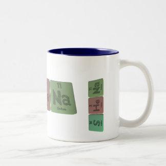 Shena  as Sulfur Helium Sodium Two-Tone Coffee Mug