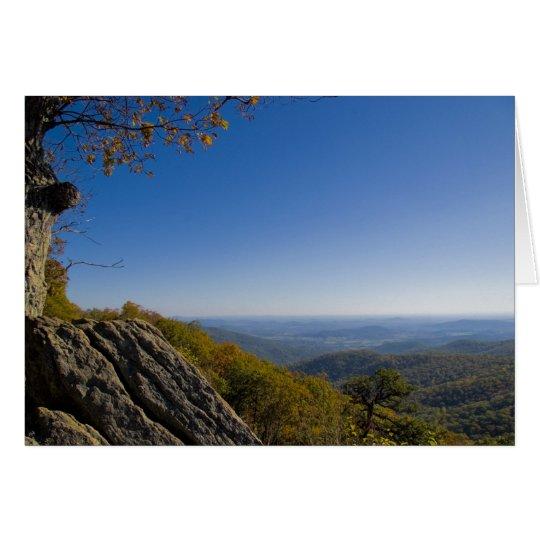 Shenandoah Autumn Card