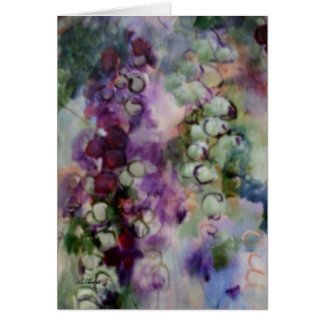 """Shenandoah Grapes"" in vivid colors. Card"