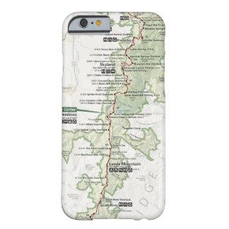 Shenandoah map phone case