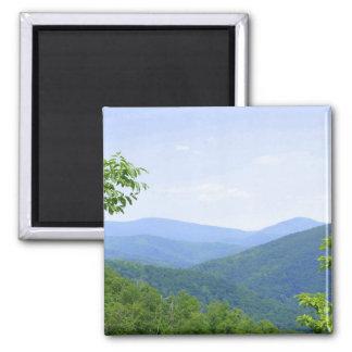 Shenandoah Mountains Fridge Magnet
