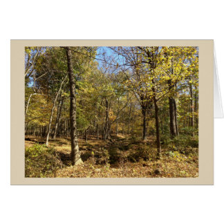 Shenandoah Mountains Nature Greeting Card