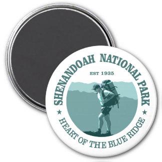 Shenandoah National Park 3 Inch Round Magnet