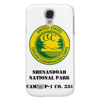 Shenandoah National Park CCC Camp NP-1 Co. 334 Galaxy S4 Cover