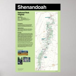 Shenandoah National Park Large Poster
