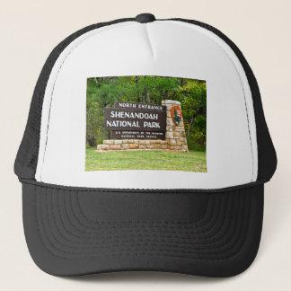 Shenandoah National Park North Entrance Sign Trucker Hat