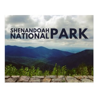 Shenandoah National Park Postcard