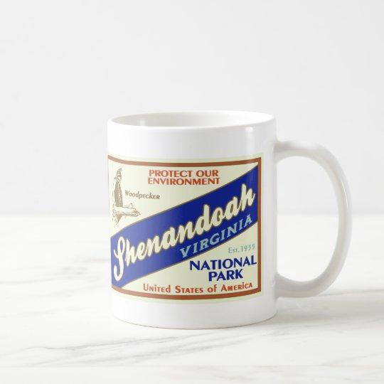 Shenandoah National Park (Woodpecker) Coffee Mug