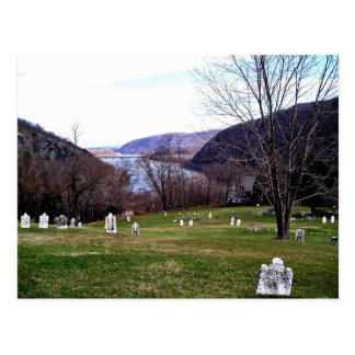 Shenandoah River From Harpers Ferry Cemetery Post Card