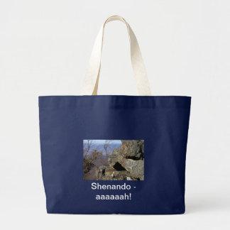 Shenandoah Rock Large Tote Bag