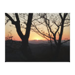 Shenandoah Sunset National Park Landscape Canvas Print