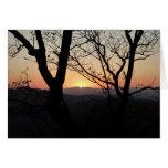 Shenandoah Sunset National Park Landscape Card