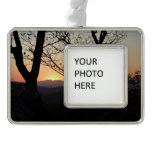 Shenandoah Sunset National Park Landscape Christmas Ornament