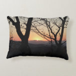 Shenandoah Sunset National Park Landscape Decorative Pillow