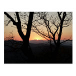 Shenandoah Sunset National Park Landscape Postcard