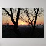 Shenandoah Sunset National Park Landscape Poster