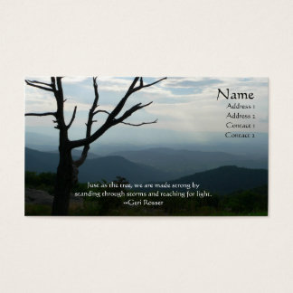 Shenandoah Tree Profile Card