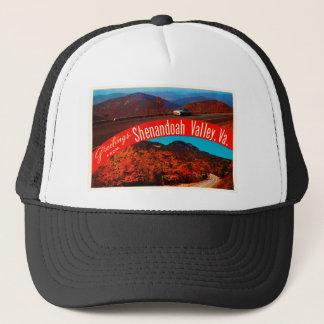 Shenandoah Valley Virginia VA Vintage Postcard- Trucker Hat