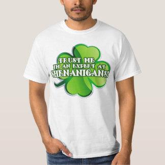 Shenanigan Expert T-shirt
