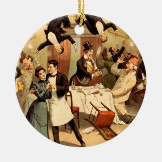 Shenanigans del restaurante de la CAMISETA Adornos De Navidad