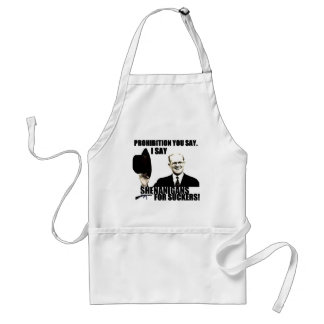 Shenanigans for Suckers Adult Apron