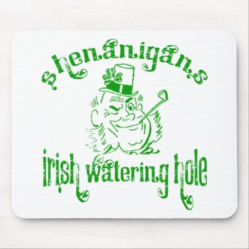 Shenanigans Irish Watering Hole Mousepad
