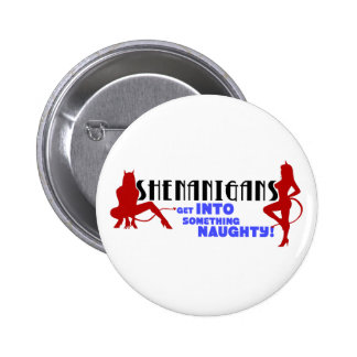 Shenanigans logo buttons