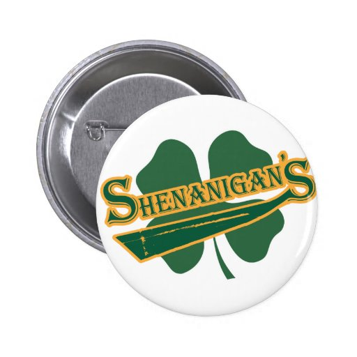 Shenanigan's Pinback Buttons
