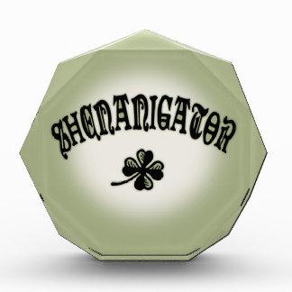 Shenanigator 117 award