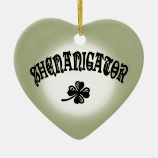 Shenanigator 117 ceramic ornament