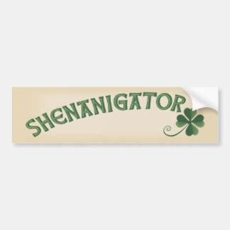 Shenanigator Bumper Sticker