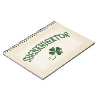 Shenanigator Spiral Notebook