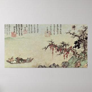 Sheng Mao - viaje del barco del otoño en el río Impresiones