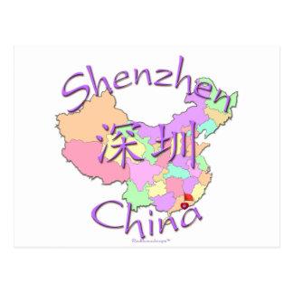 Shenzhen China Postcard