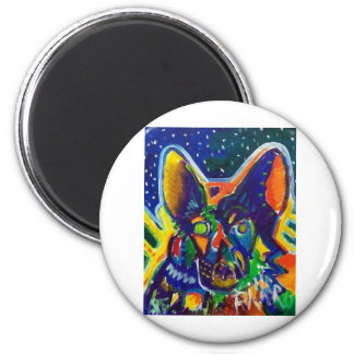 Shep by Piliero 2 Inch Round Magnet