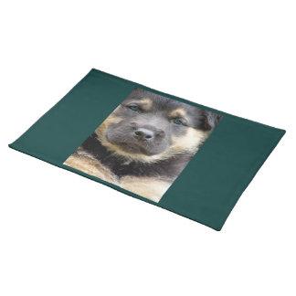Shep Dog Cloth Placemat