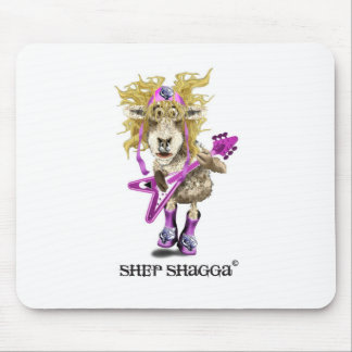 Shep Shagga Rock n Roll sheep Mouse Pad