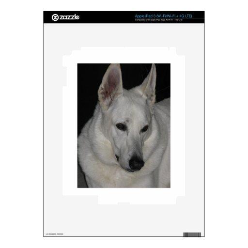 Shepard blanco iPad 3 pegatina skin
