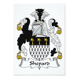 Shepard Family Crest Custom Announcements