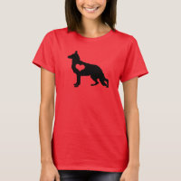 Shepard Love German Shepherd Dog T-Shirt